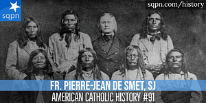Father De Smet with Indians