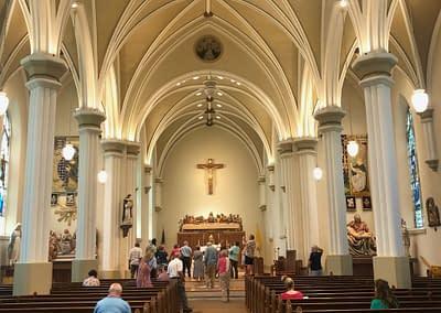 Interior of St. Rose