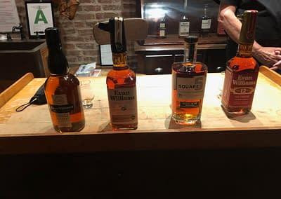 Evan Williams Tasting Lineup