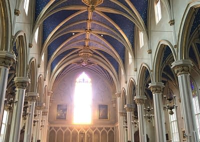 Interior of Cathedral of the Assumption