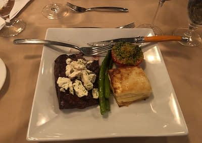 Steak Dinner at Brasserie Provence