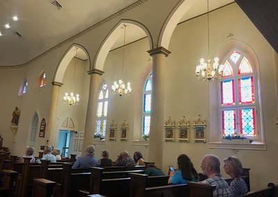 Interior of St. Thomas Church