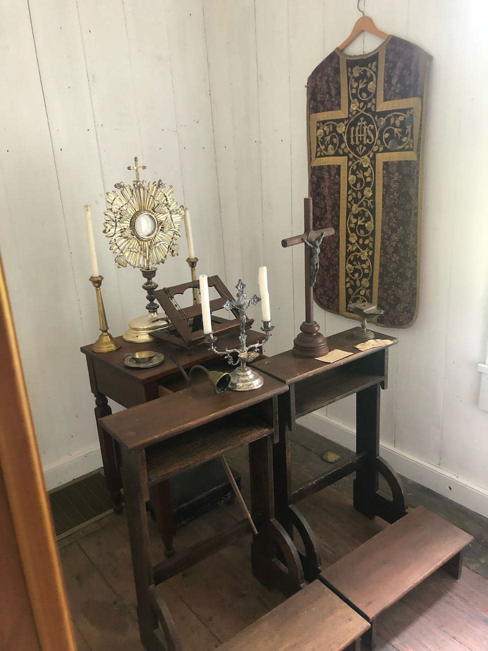 Sacred Items in St. Thomas Seminary Building