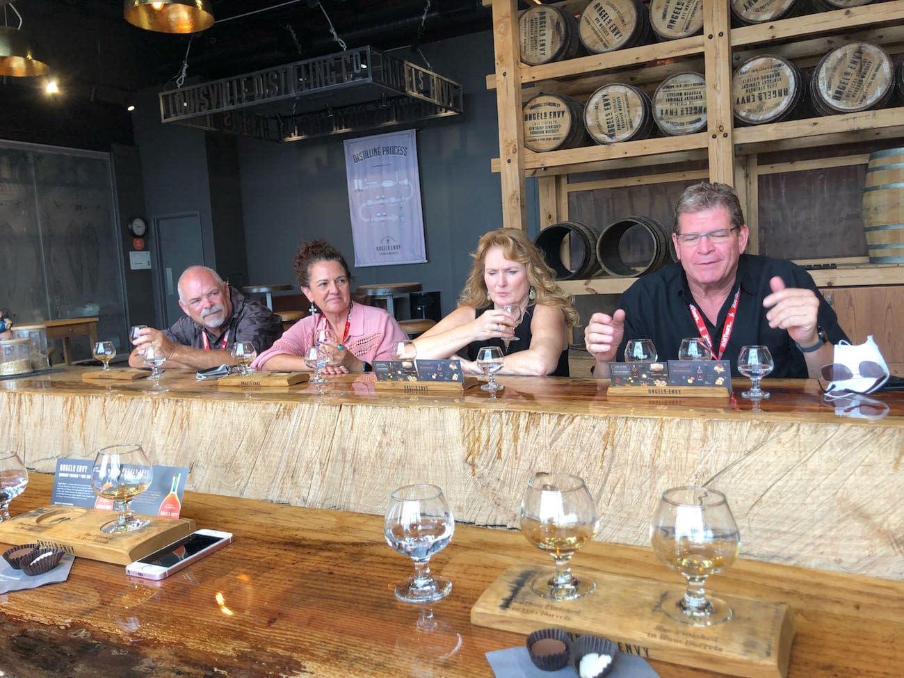 Arizona Group at Angel's Envy Tasting