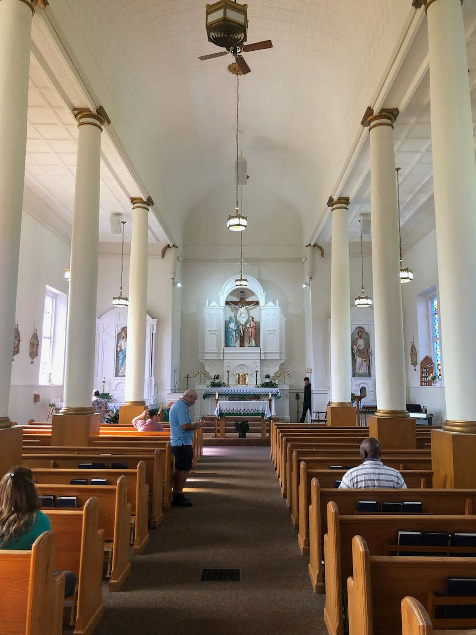 Interior of Holy Cross