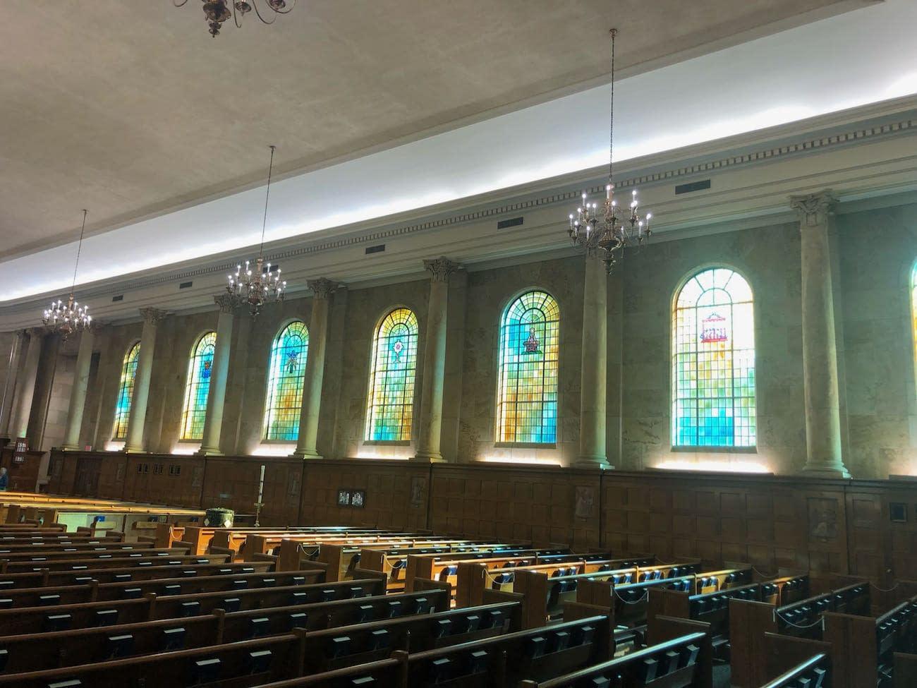 Interior of Holy Spirit