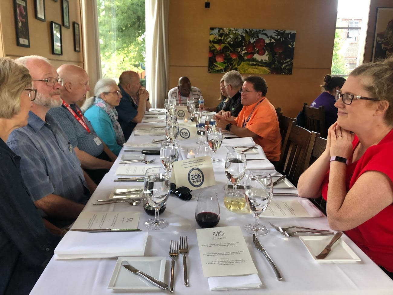 Table at 610 Magnolia