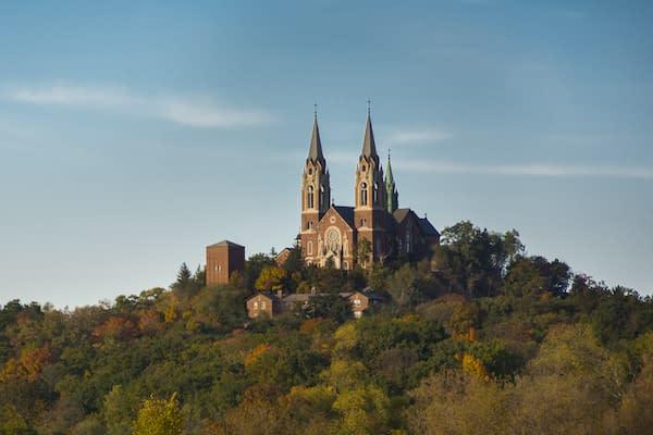 Holy Hill Basilica Autumn