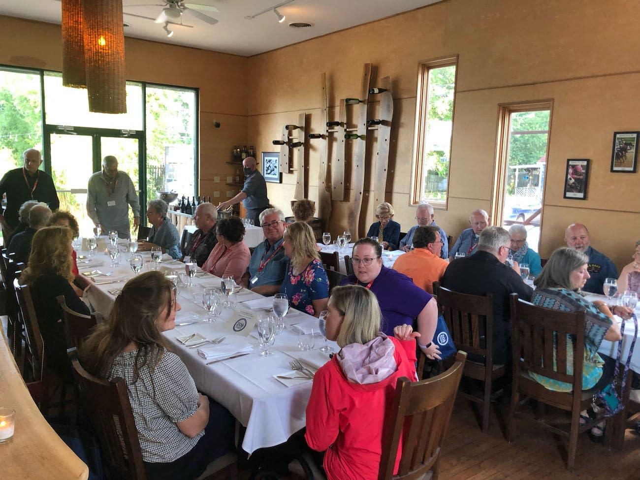 Dinner at 610 Magnolia
