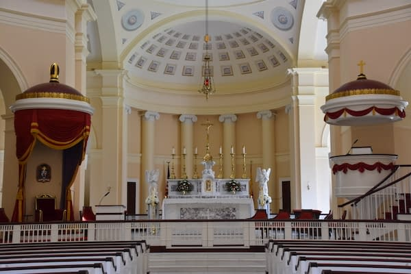 Baltimore Basilica Sanctuary