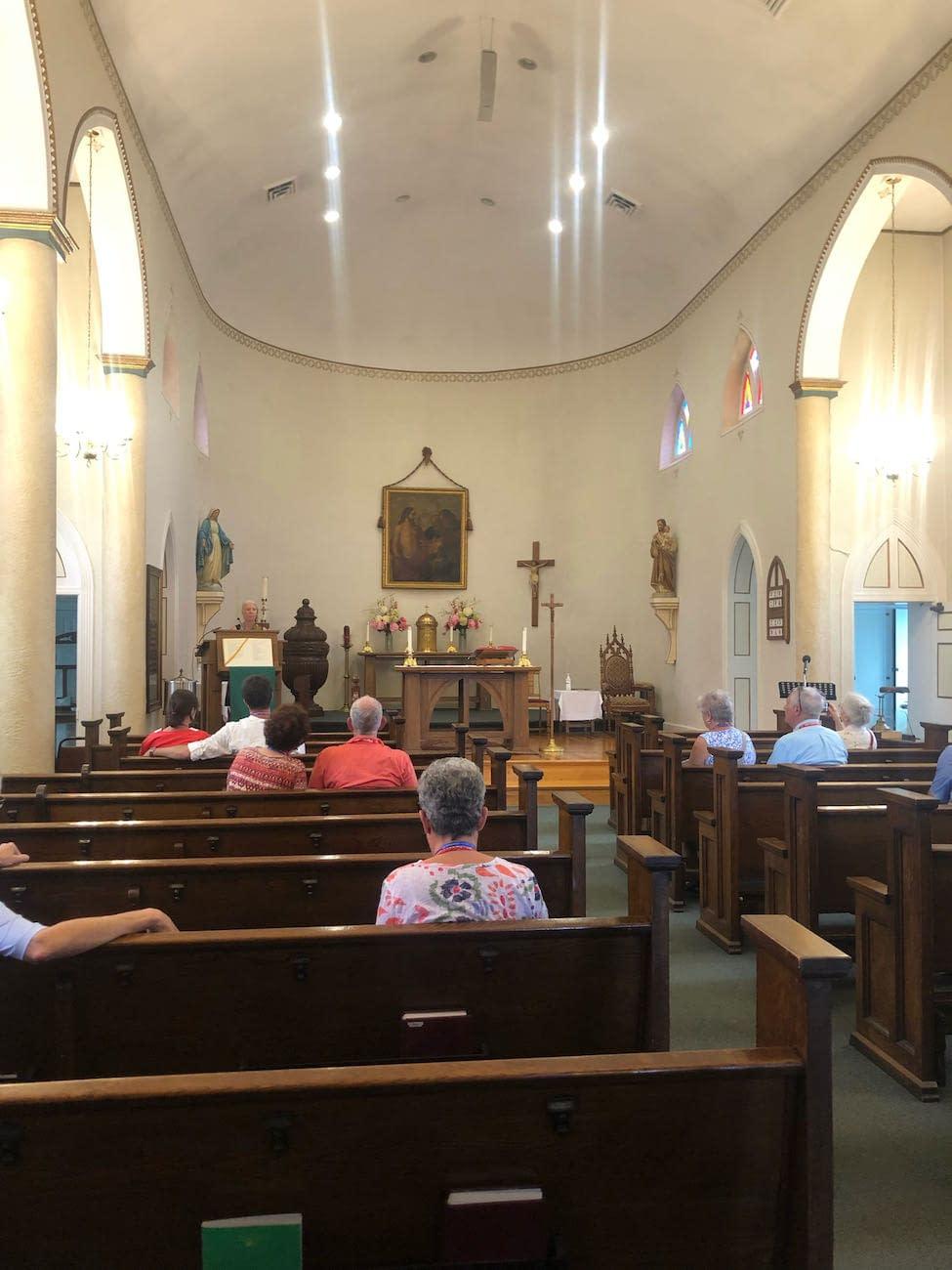 Inside St. Thomas Church