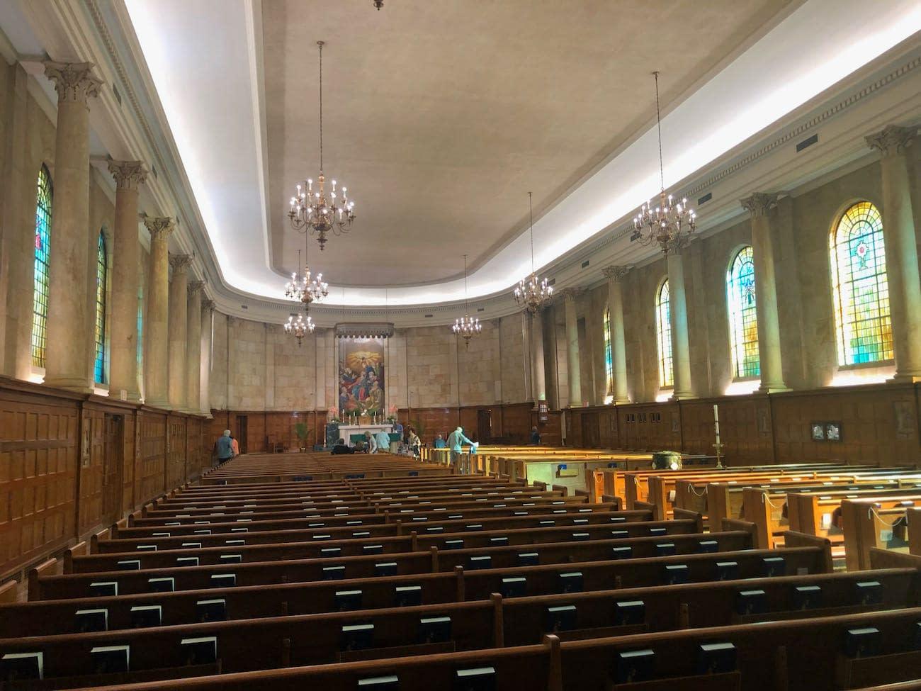 Whole Interior of Holy Spirit