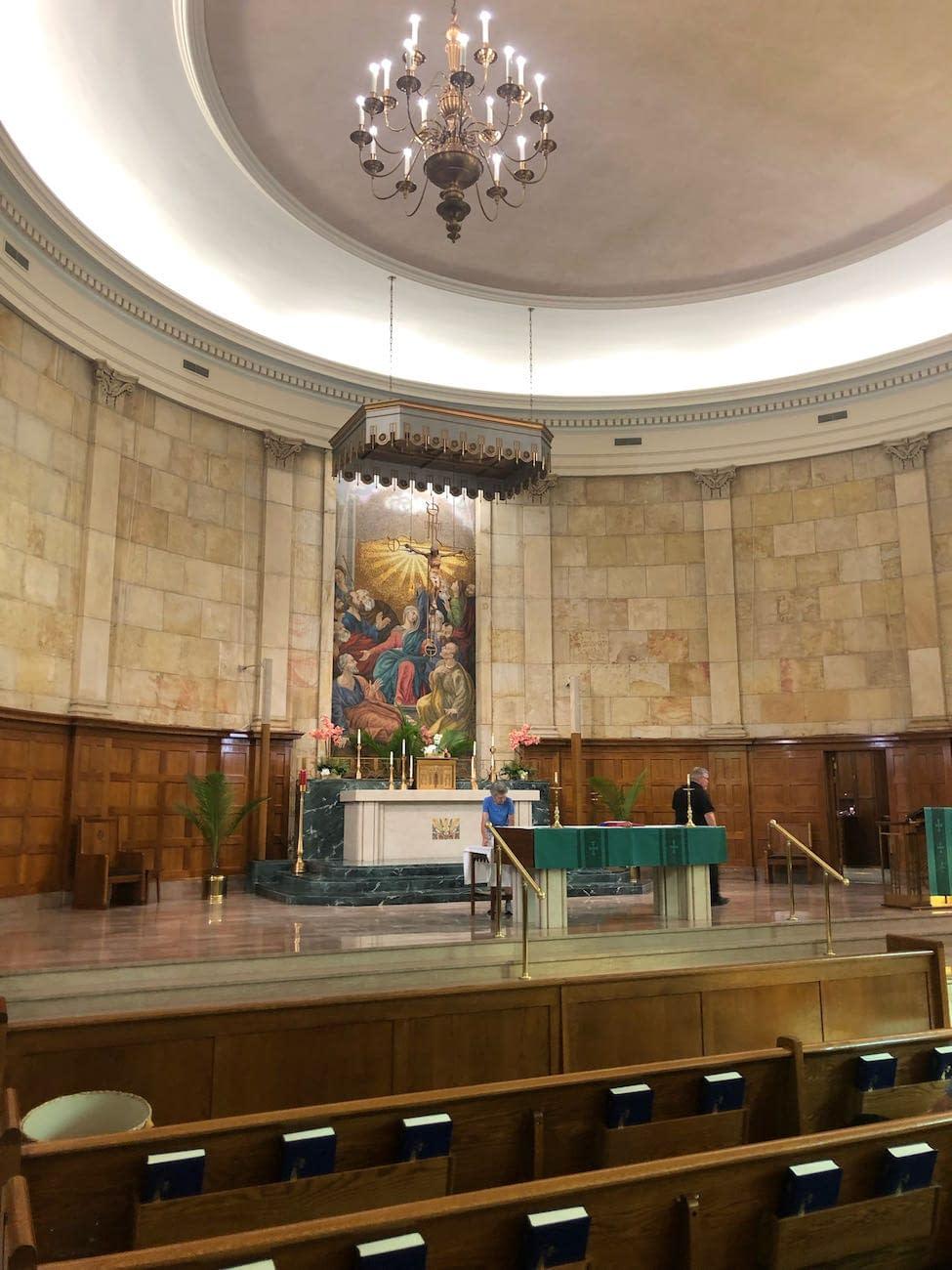 Sanctuary at Holy Spirit