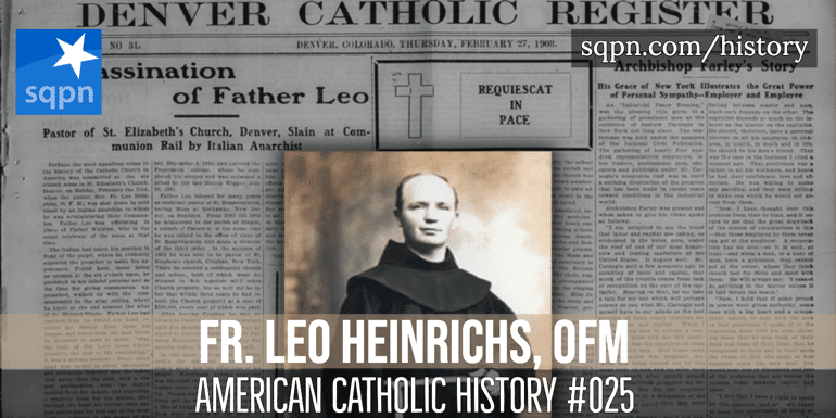 Fr. Leo Heinrichs, OFM header