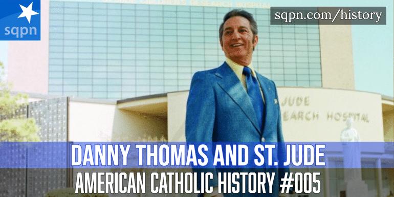 Danny Thomas and St. Jude Hospital header