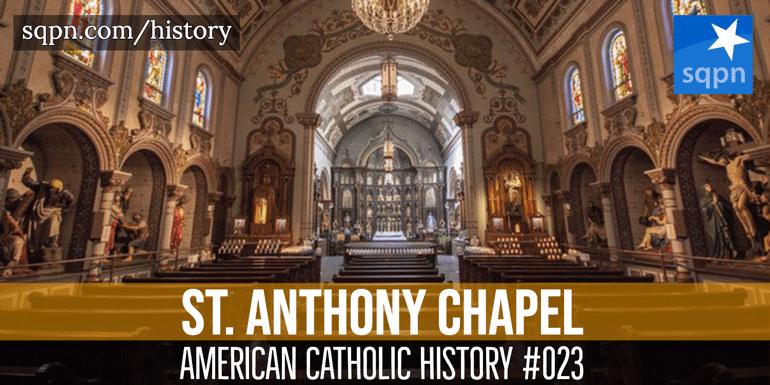 st. anthony chapel
