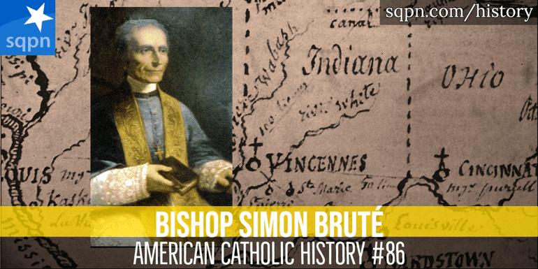 Bishop Simon Bruté header