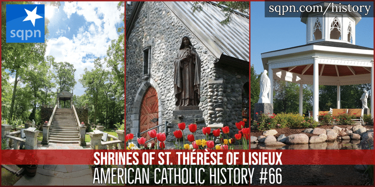 Shrines of St. Therese header