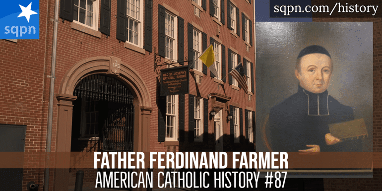 Father Ferdinand Farmer header