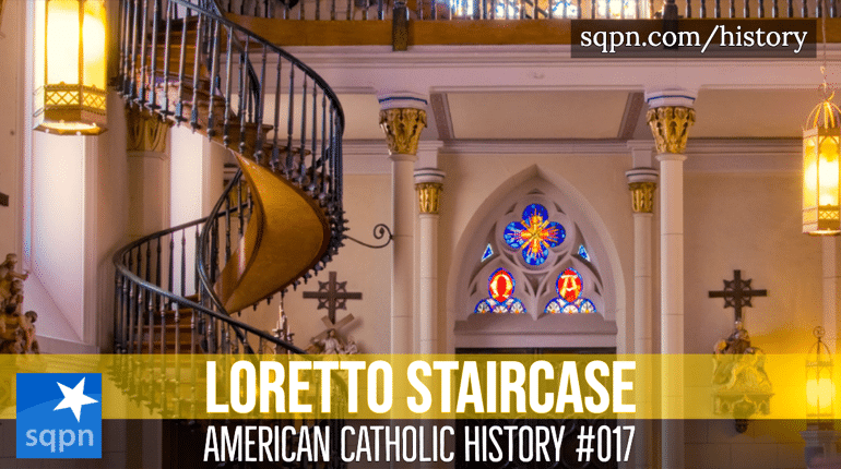 loretto staircase header