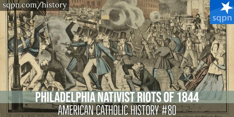 nativist riots 1844 header