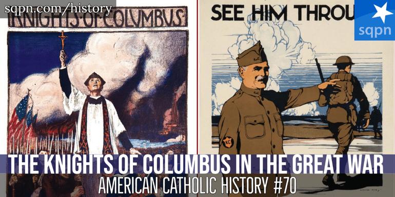 Knights of Columbus in World War I header